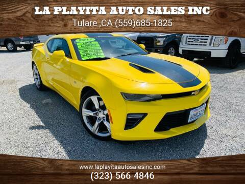 2017 Chevrolet Camaro for sale at LA PLAYITA AUTO SALES INC - Tulare Lot in Tulare CA