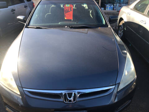 2007 Honda Accord for sale at Whiting Motors in Plainville CT