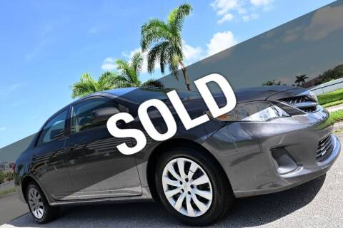 2012 Toyota Corolla for sale at MOTORCARS in West Palm Beach FL