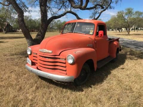 1950 Chevrolet 3100 for sale at STREET DREAMS TEXAS in Fredericksburg TX