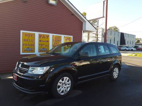 2015 Dodge Journey for sale at Mack's Autoworld in Toledo OH