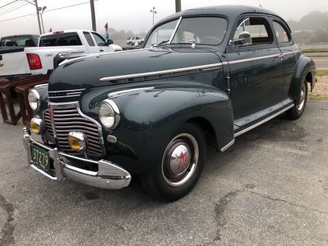 1941 Chevrolet Master Deluxe for sale at The Car Guys in Hyannis MA