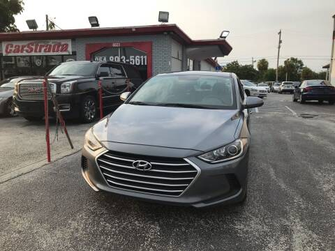2017 Hyundai Elantra for sale at CARSTRADA in Hollywood FL