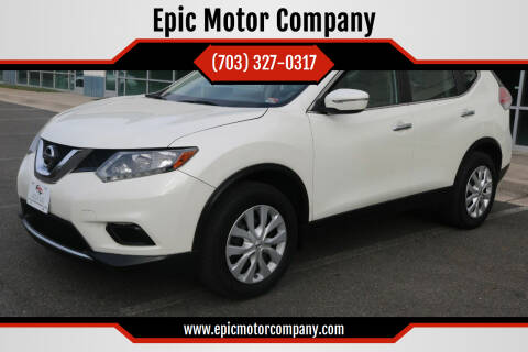 2015 Nissan Rogue for sale at Epic Motor Company in Chantilly VA