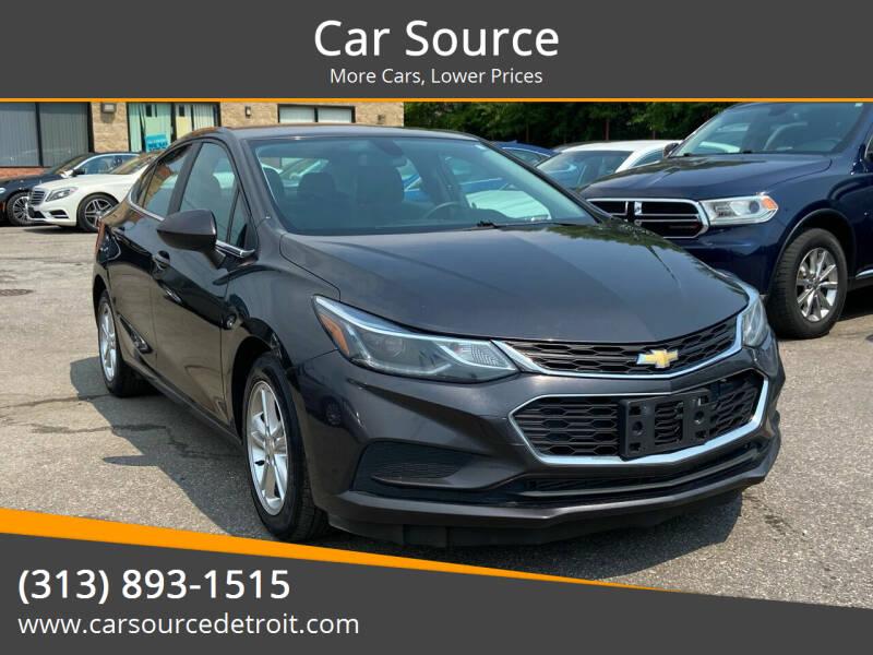 2017 Chevrolet Cruze for sale at Car Source in Detroit MI