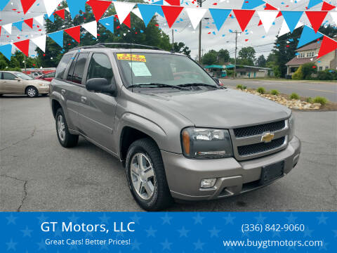 2007 Chevrolet TrailBlazer for sale at GT Motors, LLC in Elkin NC