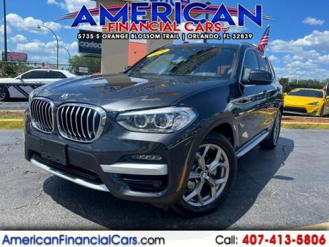 2021 BMW X3 for sale at American Financial Cars in Orlando FL