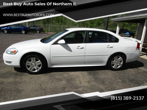 2012 Chevrolet Impala for sale at Best Buy Auto Sales of Northern IL in South Beloit IL