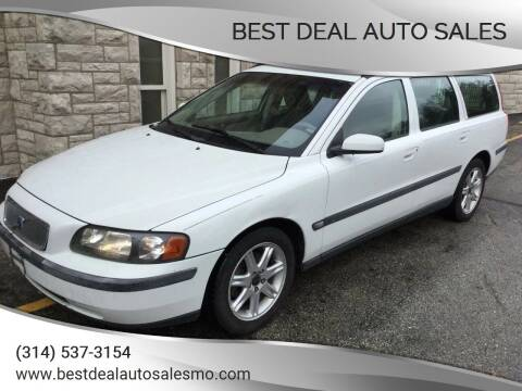 2004 Volvo V70 for sale at Best Deal Auto Sales in Saint Charles MO