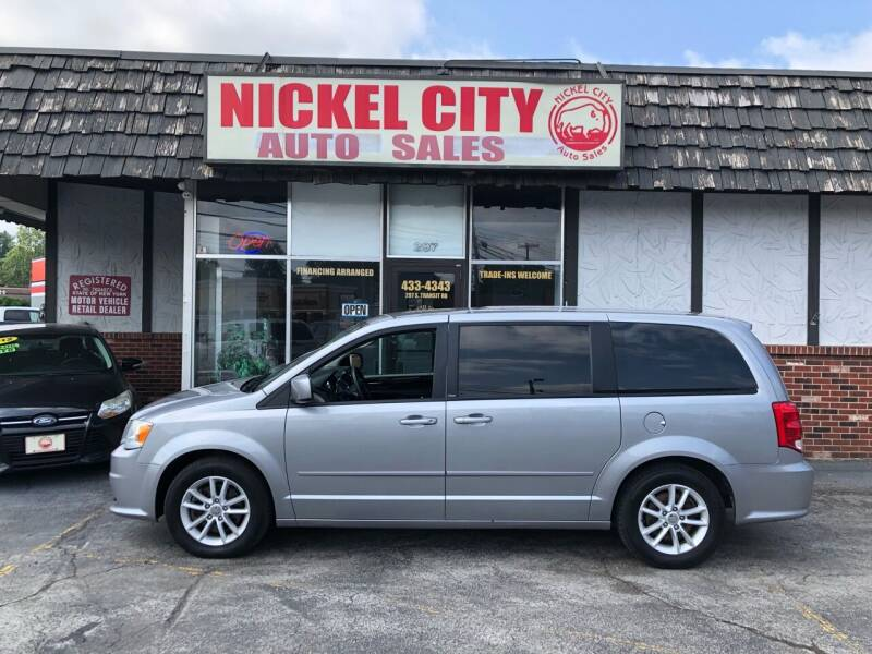2013 Dodge Grand Caravan for sale at NICKEL CITY AUTO SALES in Lockport NY