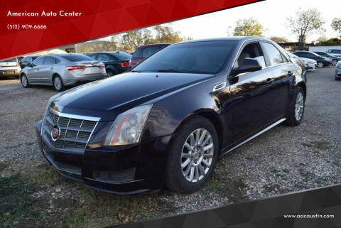 2010 Cadillac CTS for sale at American Auto Center in Austin TX