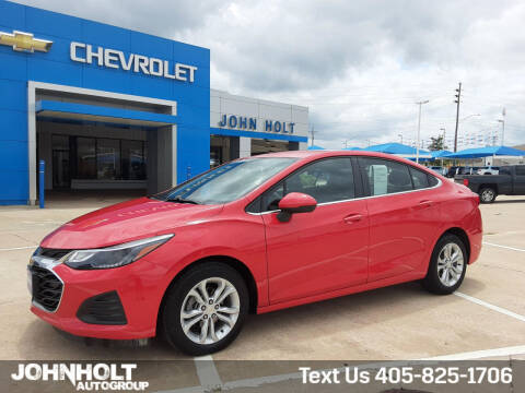 2019 Chevrolet Cruze for sale at JOHN HOLT AUTO GROUP, INC. in Chickasha OK