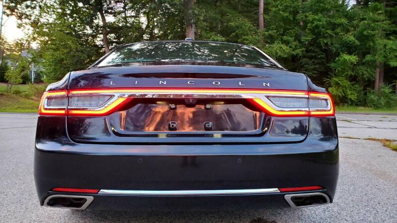 2017 Lincoln Continental AWD Livery 4dr Sedan - Acton MA
