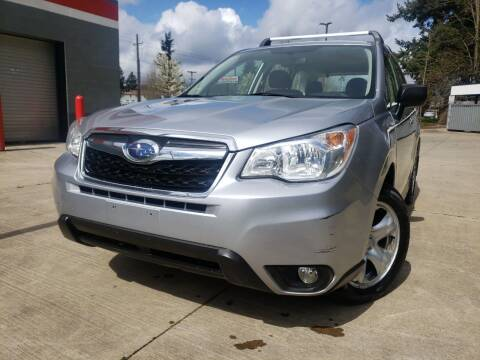 2014 Subaru Forester for sale at A1 Group Inc in Portland OR