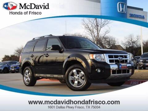 2012 Ford Escape for sale at DAVID McDAVID HONDA OF IRVING in Irving TX