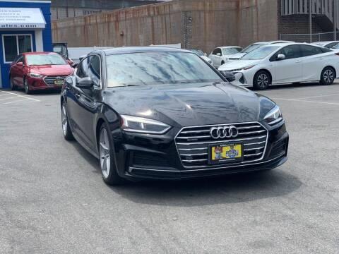 2018 Audi A5 Sportback for sale at AGM AUTO SALES in Malden MA