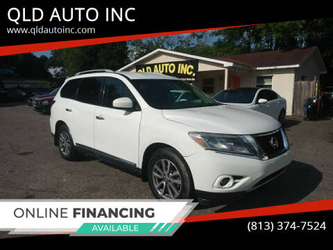 2014 Nissan Pathfinder for sale at QLD AUTO INC in Tampa FL