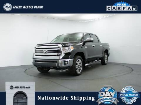2016 Toyota Tundra for sale at INDY AUTO MAN in Indianapolis IN