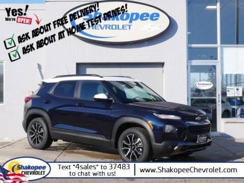 2021 Chevrolet TrailBlazer for sale at SHAKOPEE CHEVROLET in Shakopee MN