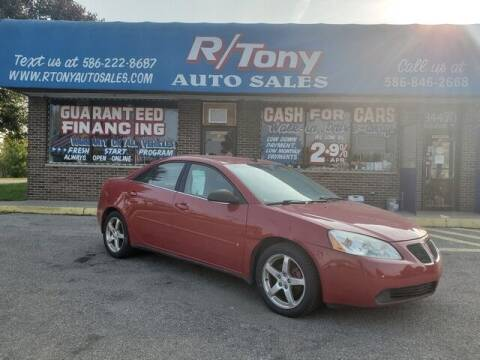 2006 Pontiac G6 for sale at R Tony Auto Sales in Clinton Township MI