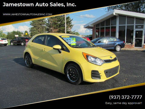 2016 Kia Rio 5-Door for sale at Jamestown Auto Sales, Inc. in Xenia OH