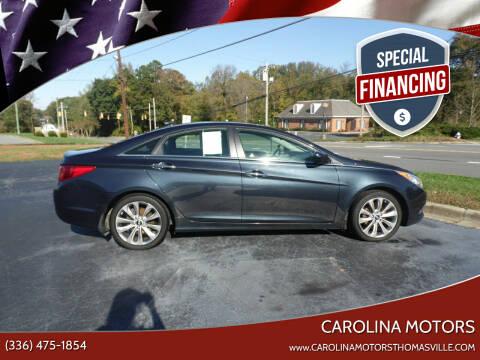 2012 Hyundai Sonata for sale at CAROLINA MOTORS - Carolina Classics & More-Thomasville in Thomasville NC