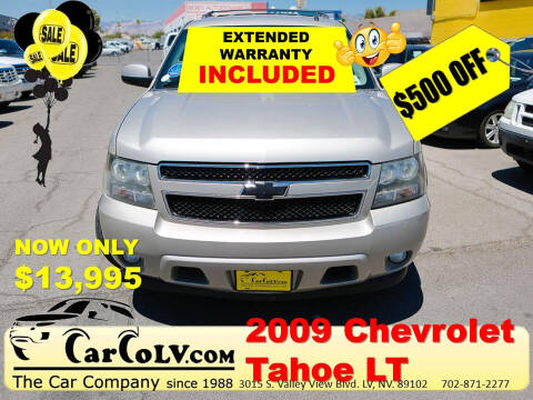 2009 Chevrolet Tahoe for sale at The Car Company in Las Vegas NV