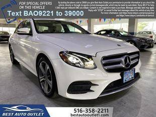 2018 Mercedes-Benz E-Class for sale at Best Auto Outlet in Floral Park NY