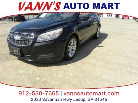 2013 Chevrolet Malibu for sale at VANN'S AUTO MART in Jesup GA
