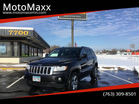 2012 Jeep Grand Cherokee for sale at MotoMaxx in Spring Lake Park MN
