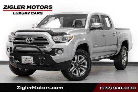 2016 Toyota Tacoma for sale at Zigler Motors in Addison TX
