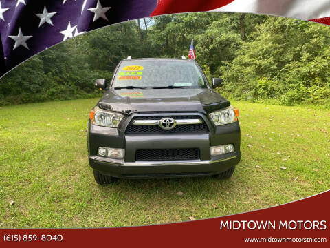2012 Toyota 4Runner for sale at Midtown Motors in Greenbrier TN