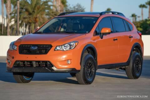 2014 Subaru XV Crosstrek for sale at Euro Auto Sales in Santa Clara CA