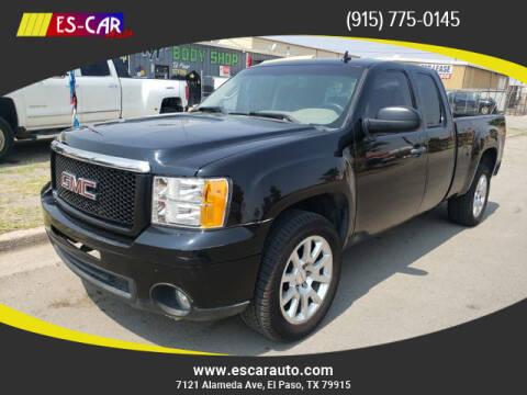 2008 GMC Sierra 1500 for sale at Escar Auto - 9809 Montana Ave Lot in El Paso TX