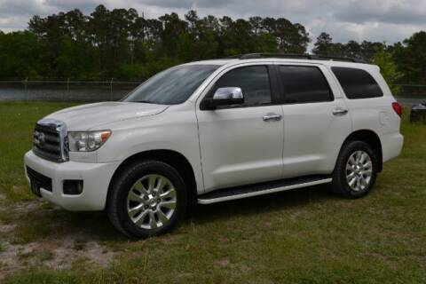 2011 Toyota Sequoia for sale at WOODLAKE MOTORS in Conroe TX