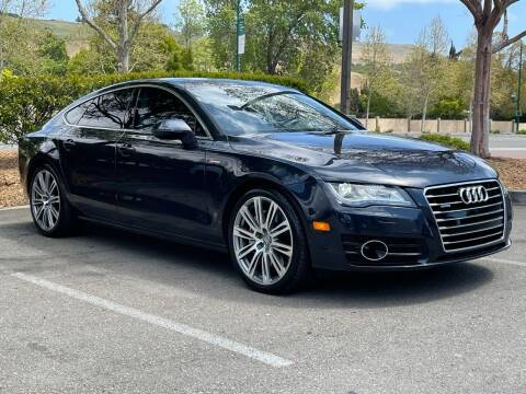 2013 Audi A7 for sale at CARFORNIA SOLUTIONS in Hayward CA