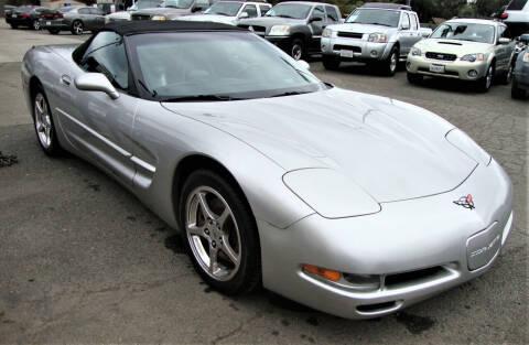 2004 Chevrolet Corvette for sale at Stallion Auto Sales llc in Roseville CA