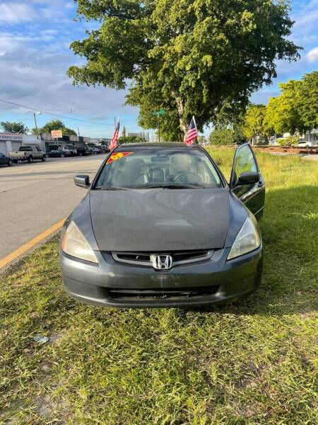 2005 Honda Accord for sale at WRD Auto Sales in Hollywood FL