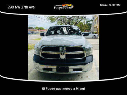 2016 RAM Ram Pickup 1500 for sale at Fuego's Cars in Miami FL