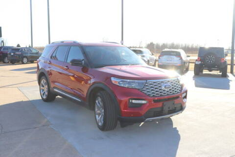 2020 Ford Explorer for sale at Vance Fleet Services in Guthrie OK