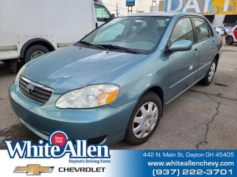 2006 Toyota Corolla for sale at WHITE-ALLEN CHEVROLET in Dayton OH