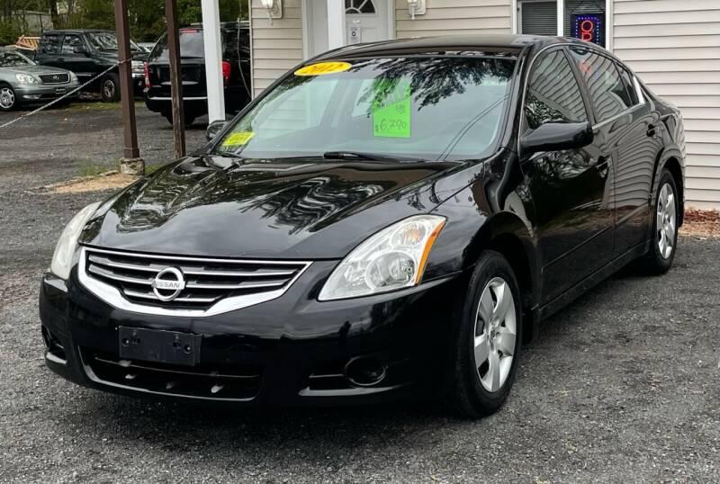 2012 Nissan Altima for sale at Landmark Auto Sales Inc in Attleboro MA