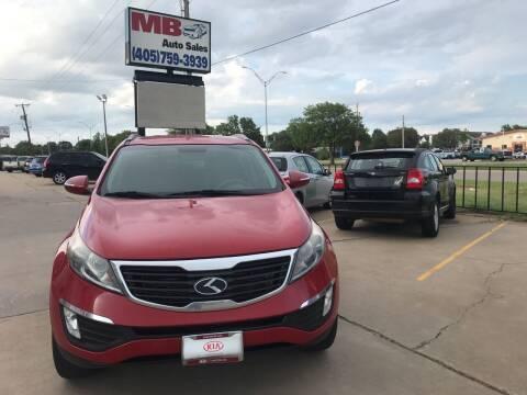 2013 Kia Sportage for sale at MB Auto Sales in Oklahoma City OK