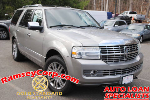 2008 Lincoln Navigator for sale at Ramsey Corp. in West Milford NJ