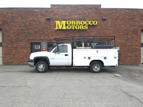 2005 Chevrolet Silverado 3500 for sale at Morrocco Motors in Erie PA