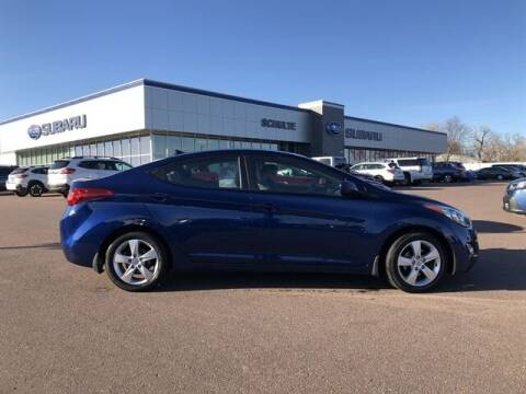 2013 Hyundai Elantra for sale at Schulte Subaru in Sioux Falls SD