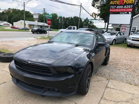 2011 Ford Mustang for sale at Autoxport in Newport News VA