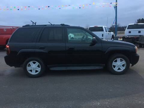 2008 Chevrolet TrailBlazer for sale at TJ's Auto in Wisconsin Rapids WI