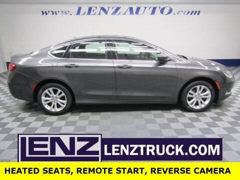 2015 Chrysler 200 for sale at LENZ TRUCK CENTER in Fond Du Lac WI