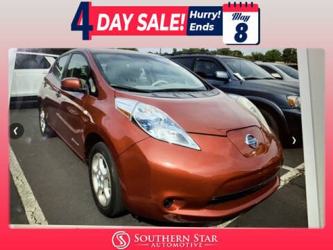 2012 Nissan LEAF for sale at Southern Star Automotive, Inc. in Duluth GA
